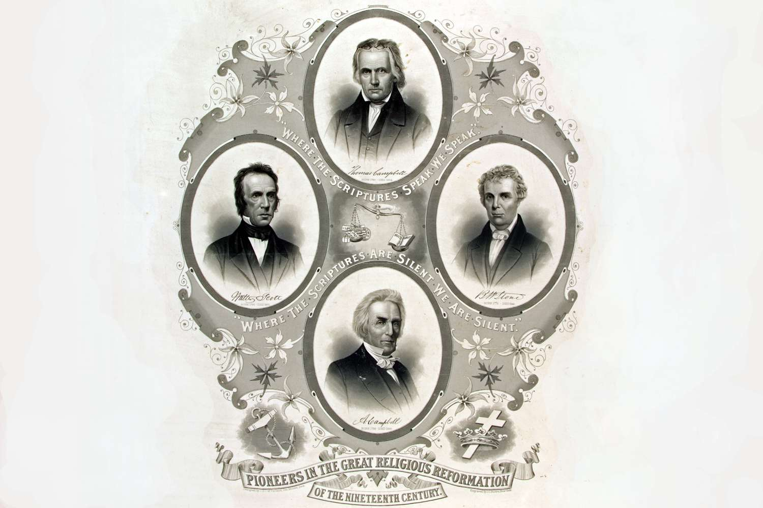 Pioneers in the great religious reformation of the 19th century