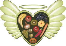angel diet foods fruit vegetables raw