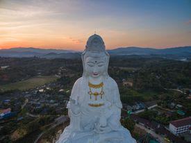 Giant statue of Kwan Yin goddess