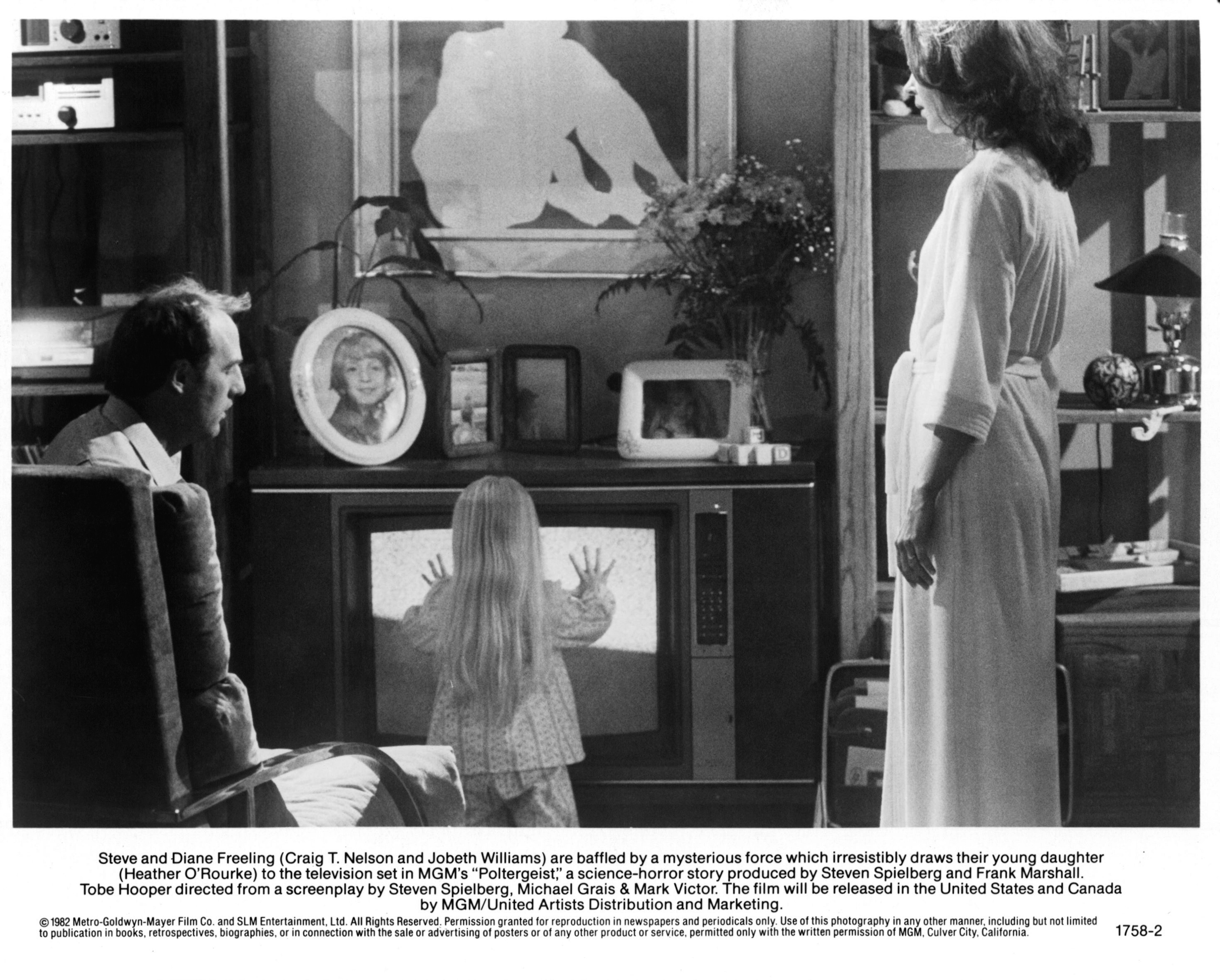 """A scene from the movie, """"Poltergeist"""""""