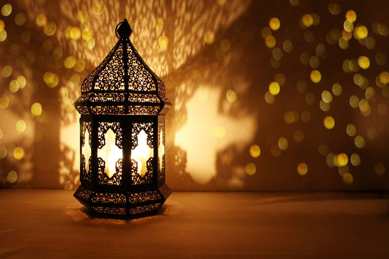 Ornamental lantern for Ramadan