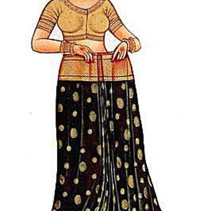 Sari: Tuck the Pleats