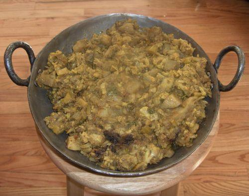Aloo Gobi (Potato Cauliflower Curry)