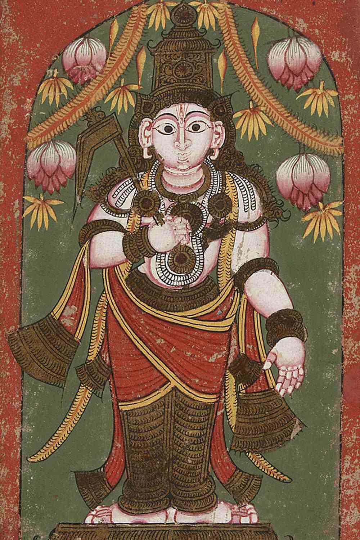 A depiction of Balarama, an avatar of Vishnu