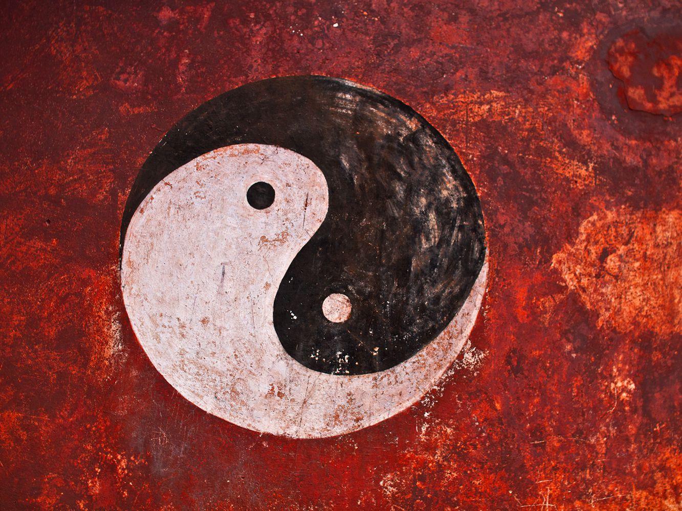 Meaning yang triple yin symbol Triple Symbol