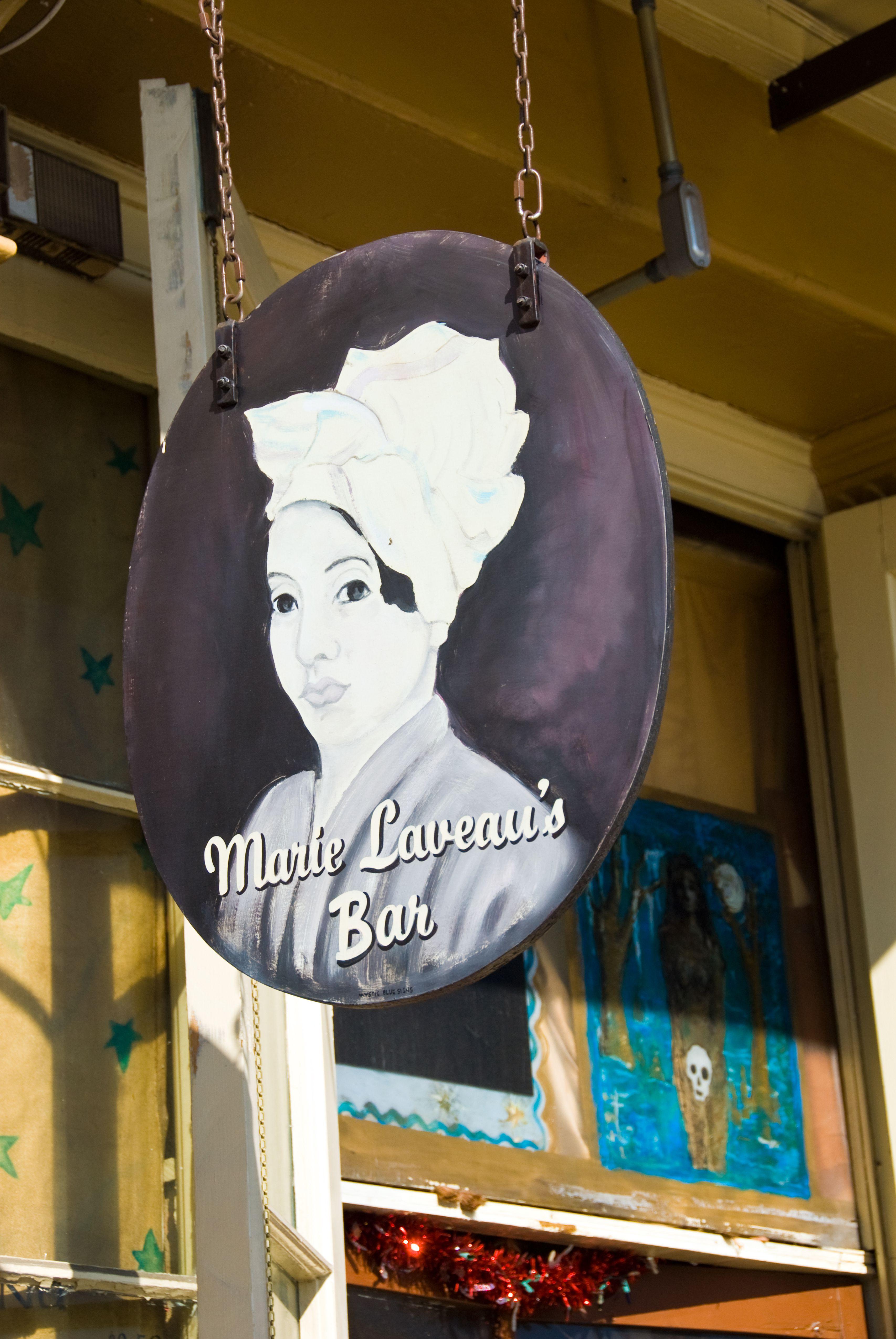 Leveau Voodoo priestess, New Orleans, Louisiana