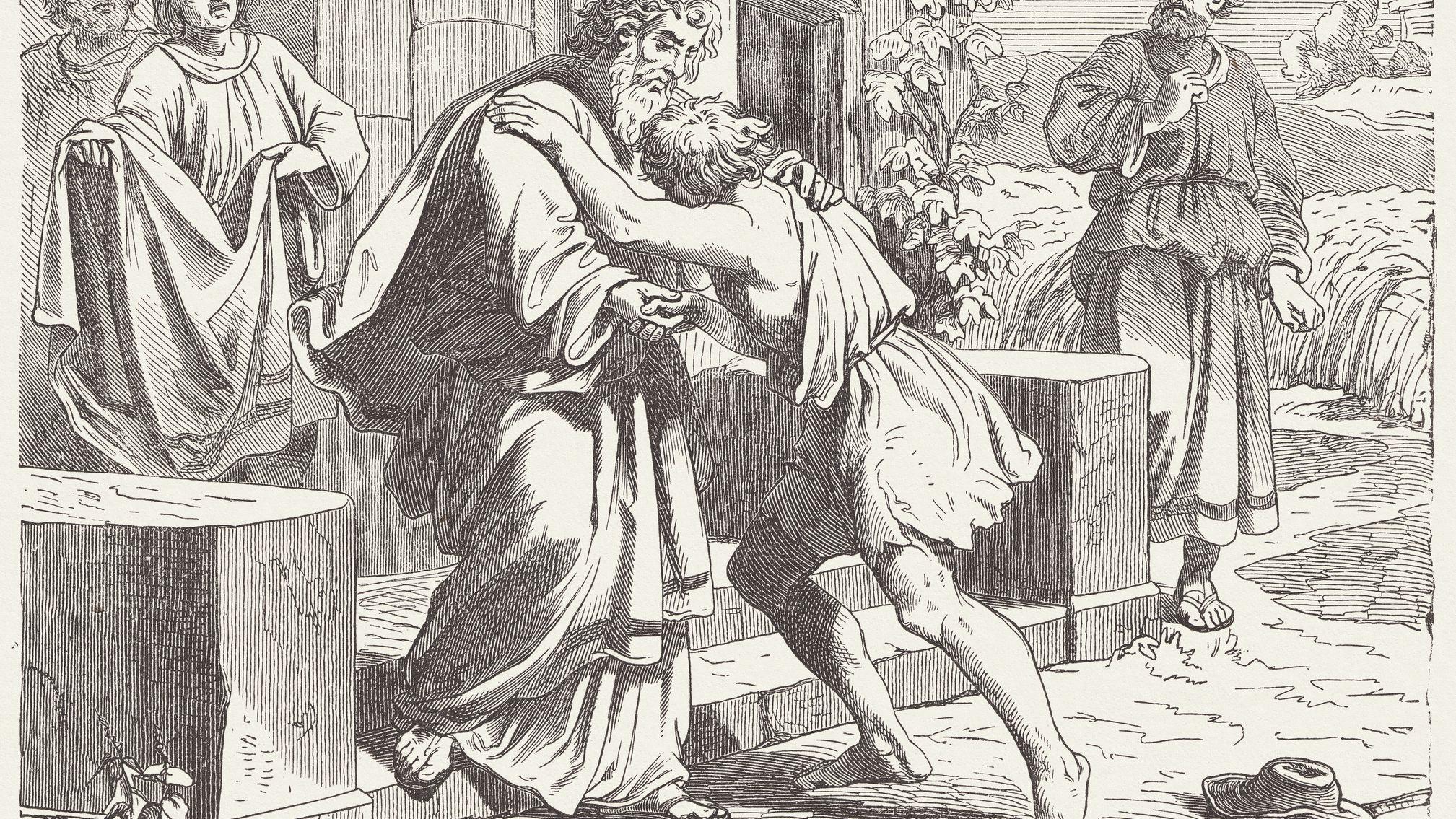 Prodigal Son Bible Story Summary Of Luke 15 11 32
