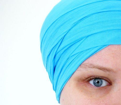 Intact Eyebrow of Sikh Woman