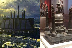 Jedi Temple and Gandharan Stupa Reliquary