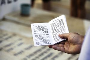 Jewish Prayer book-Kaddish