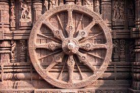 The Wheel of the Sun Temple of Konark