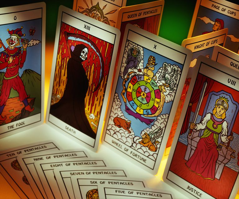 Tarot card display