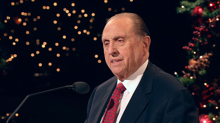 Thomas S. Monson LDS Church President and Prophet