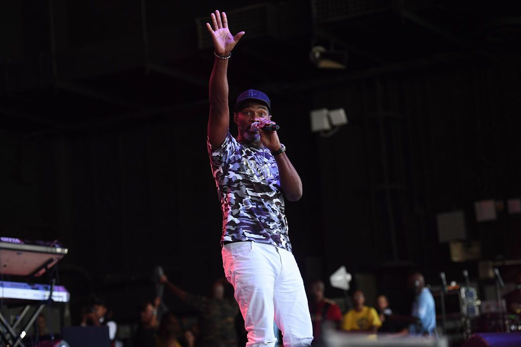 Singer Earnest Pugh performs onstage at 2017 Praise In The Park