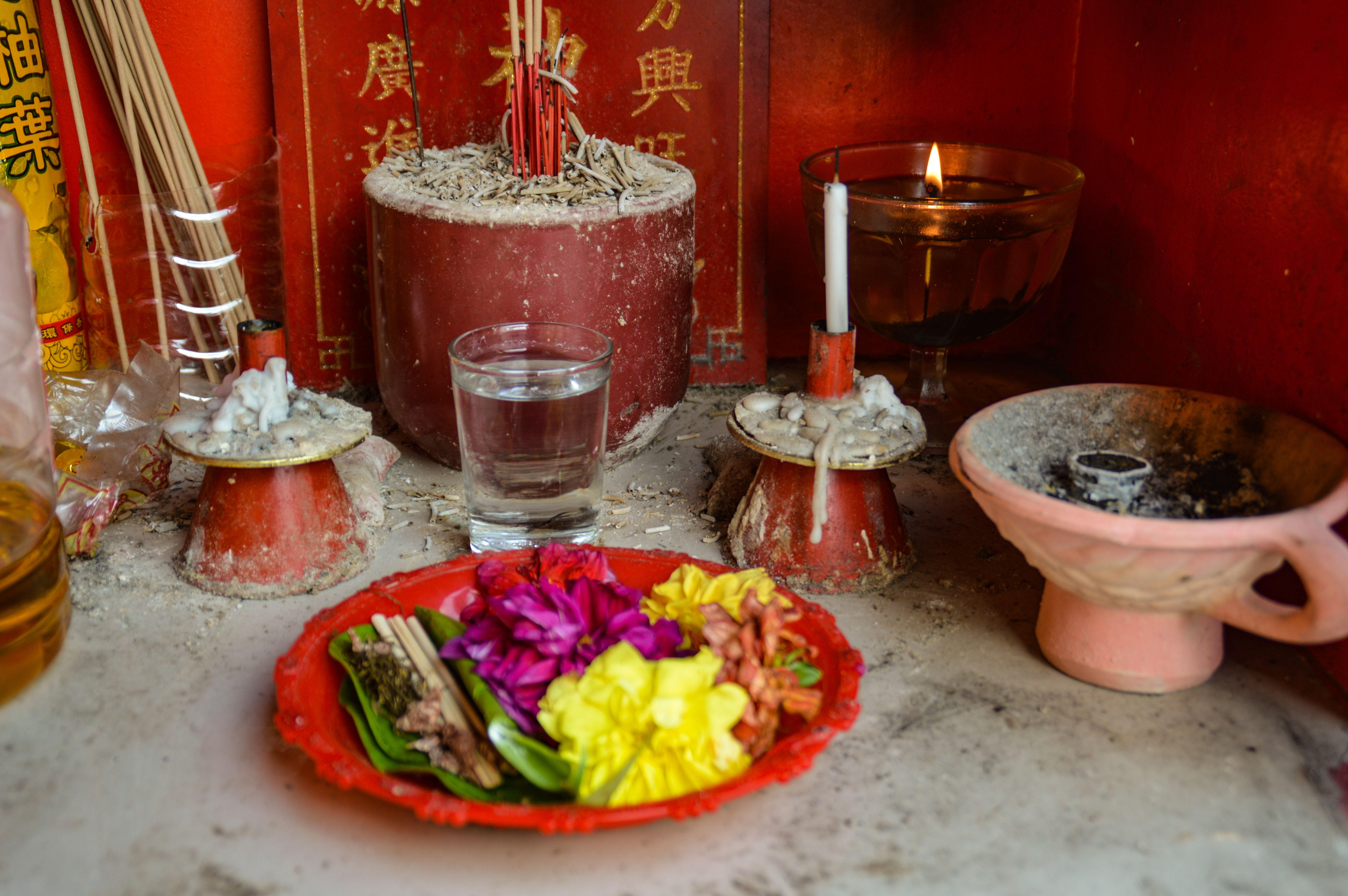 Chinese altar for Taoist