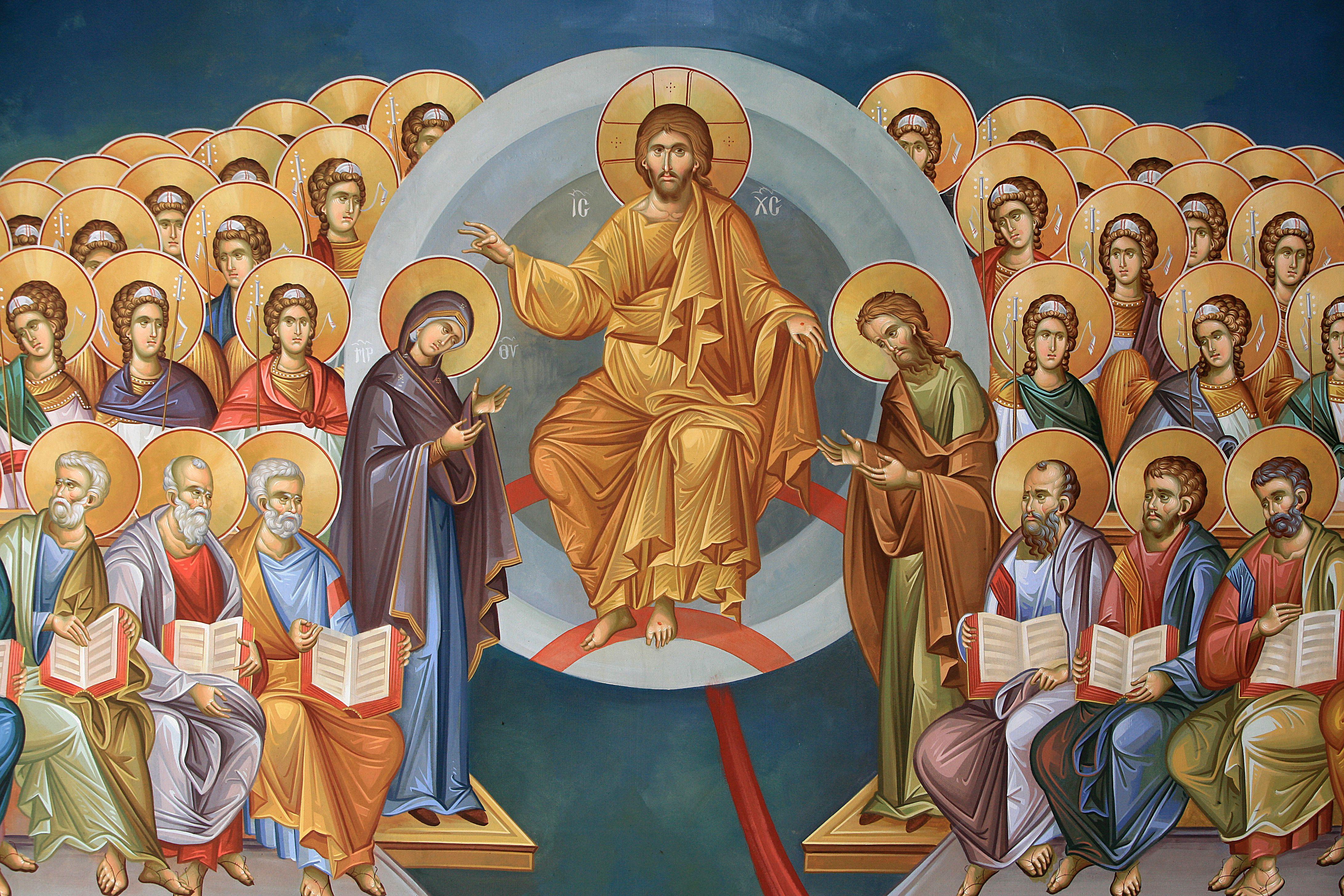 Christ in Glory Greek Orthodox Fresco