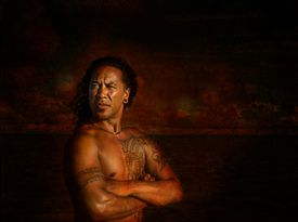 Cook Islander with tattoos