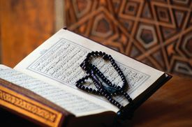 Qu'ran Book at Sultanahmet