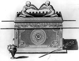 Illustration of the Ark of the Covenant