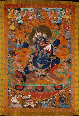 Yama as a Wrathful Dharmapala