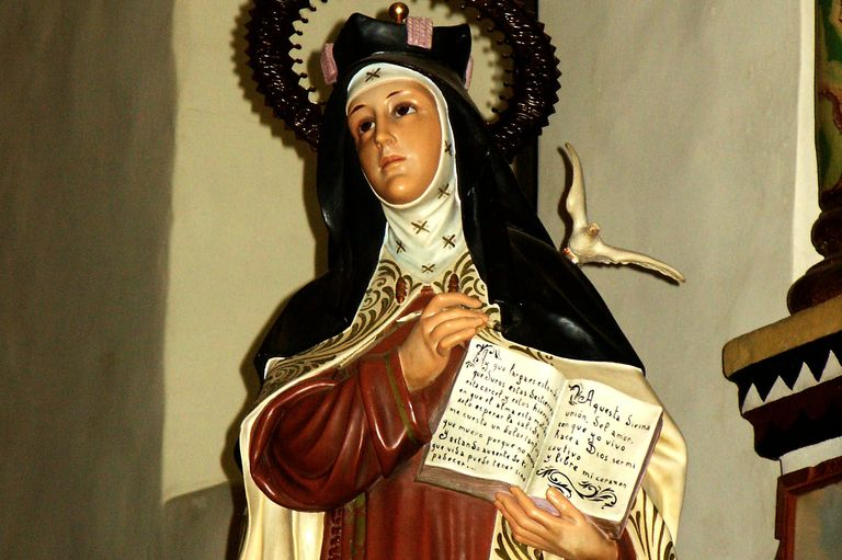St. Teresa of Avila, Mission San Juan Capistrano, CA. (Photo by flickr user DominusVobiscum)