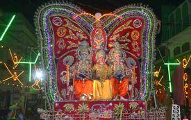 India-Dussehra Festival Celebration