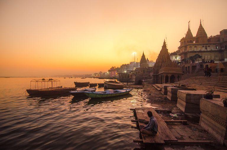 Evening At Varanasi