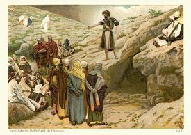 Saint John the Baptist and the Pharisees