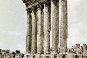 Baalbek, Temple of Jupiter Baal (Heliopolitan Zeus): Site of Worship of Canaanite God Baal