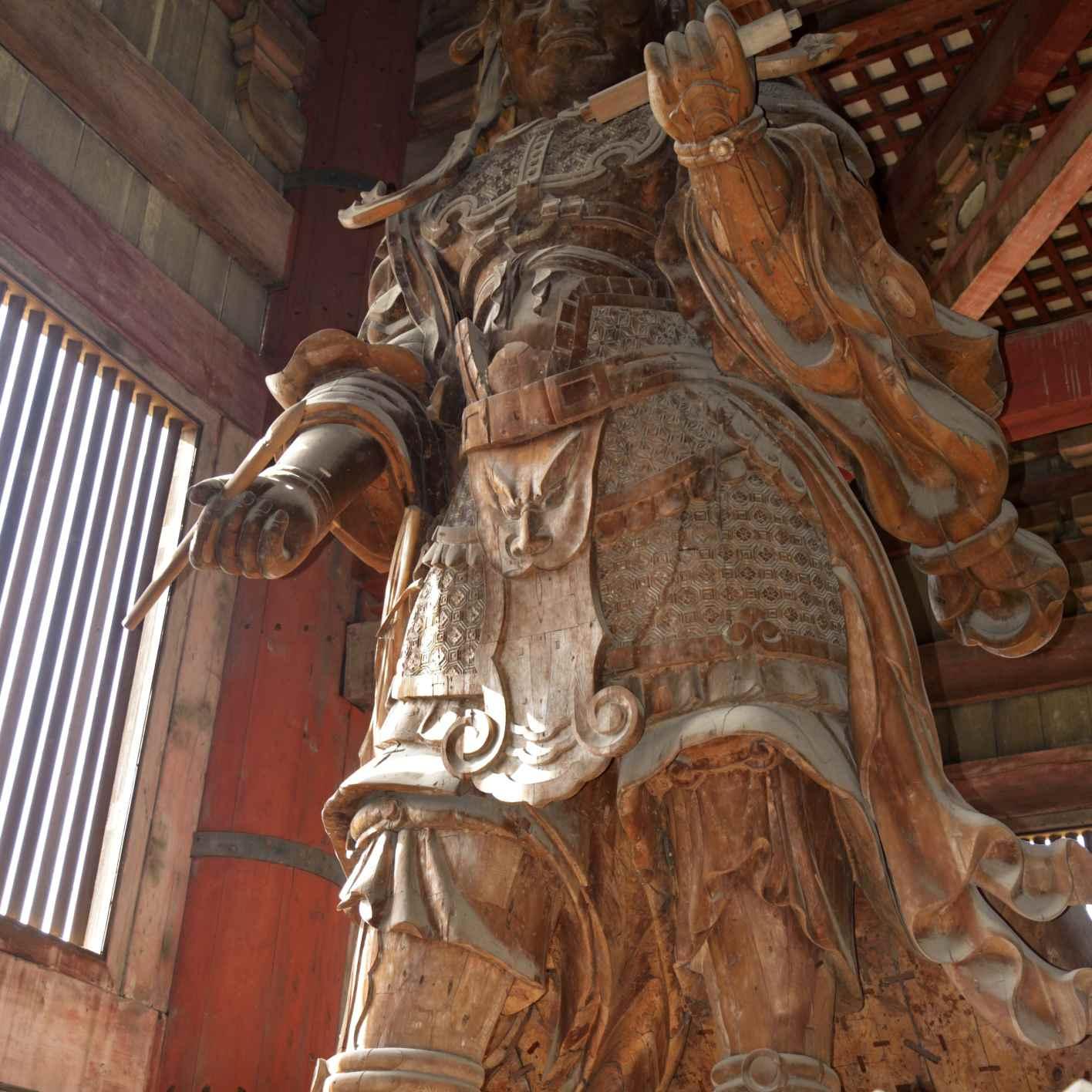 Komokuten, a Heavenly King