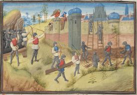 The Siege of Jerusalem, Crusades
