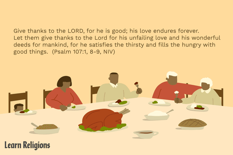 Thanksgiving Bible verse