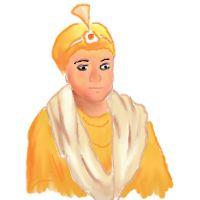 Artistic Impression of Guru Har Krishan