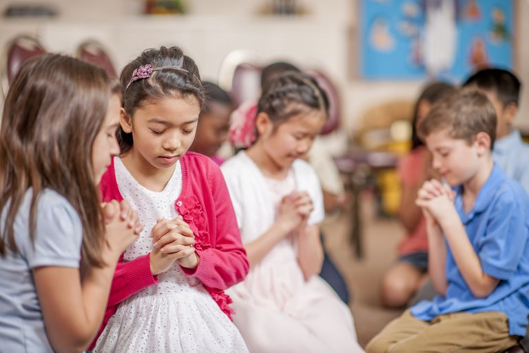 Prayer Activities for Kid Prayer Games