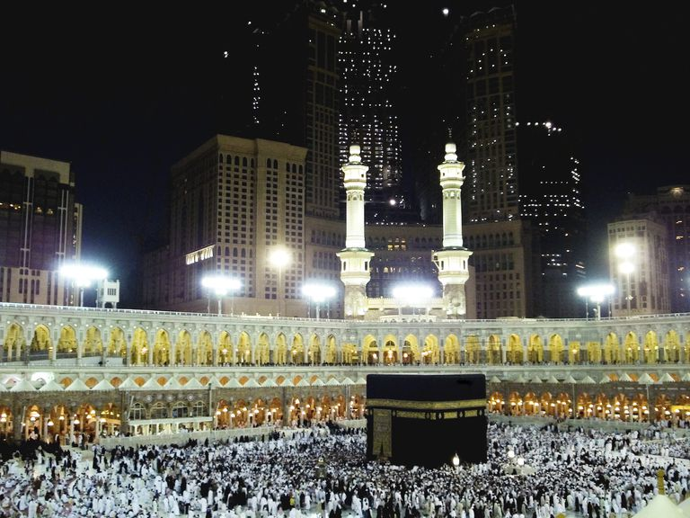 Mecca during hajj