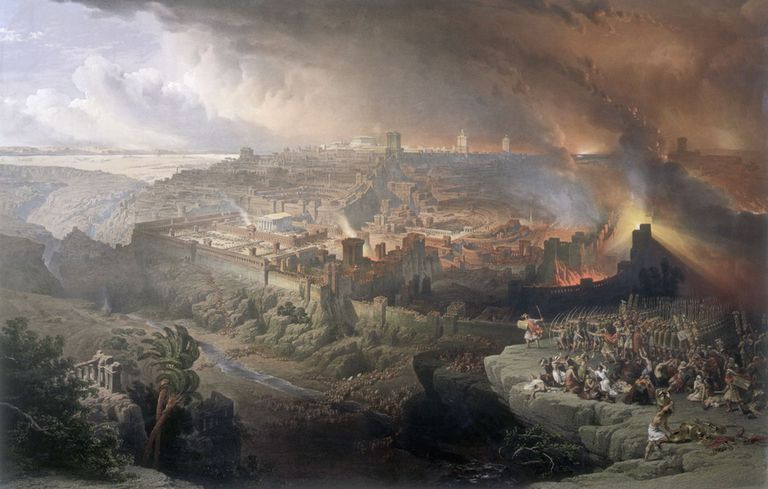 The Siege and Destruction of Jerusalem, by David Roberts (1850).