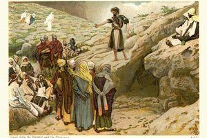 Saint John the Baptist Preaching to the Pharisees