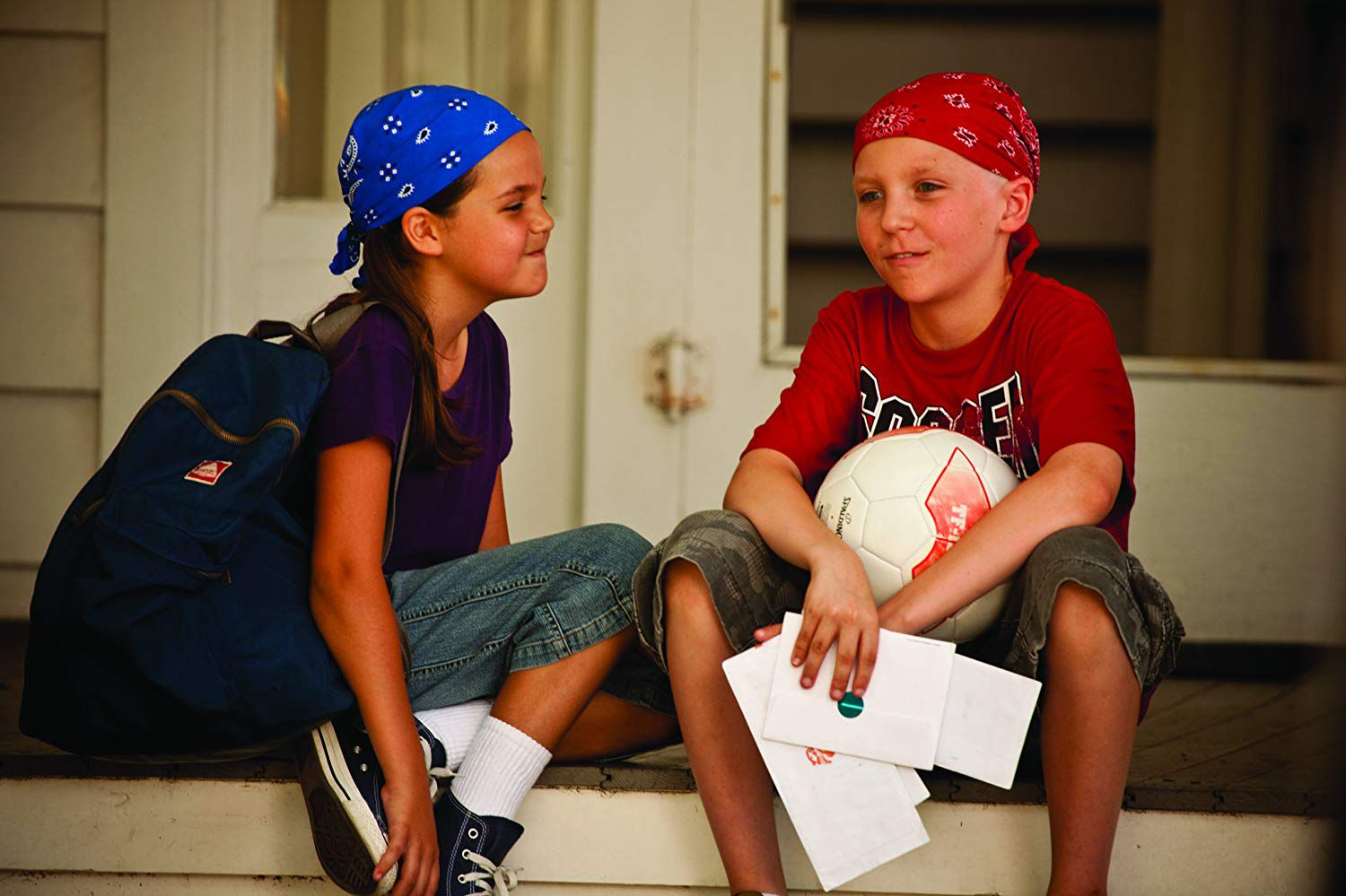 Tanner Maguire and Bailee Madison in Letters to God