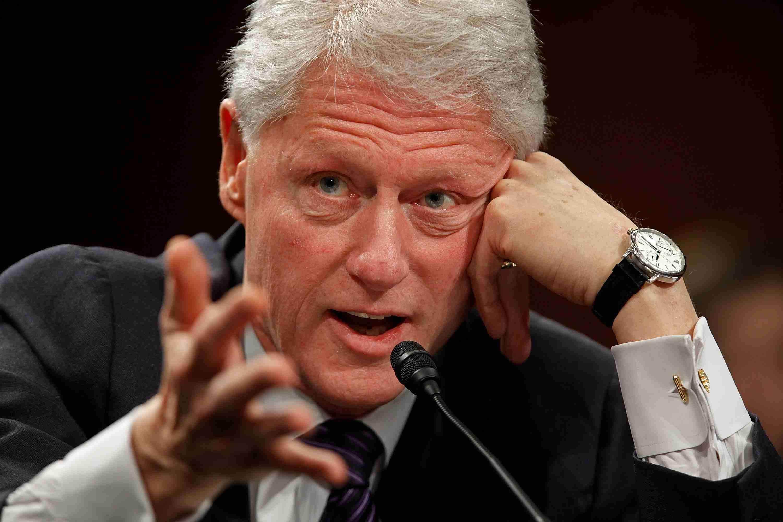 Bill Clinton And Bill Gates Testify At Senate Hearing On Global Health