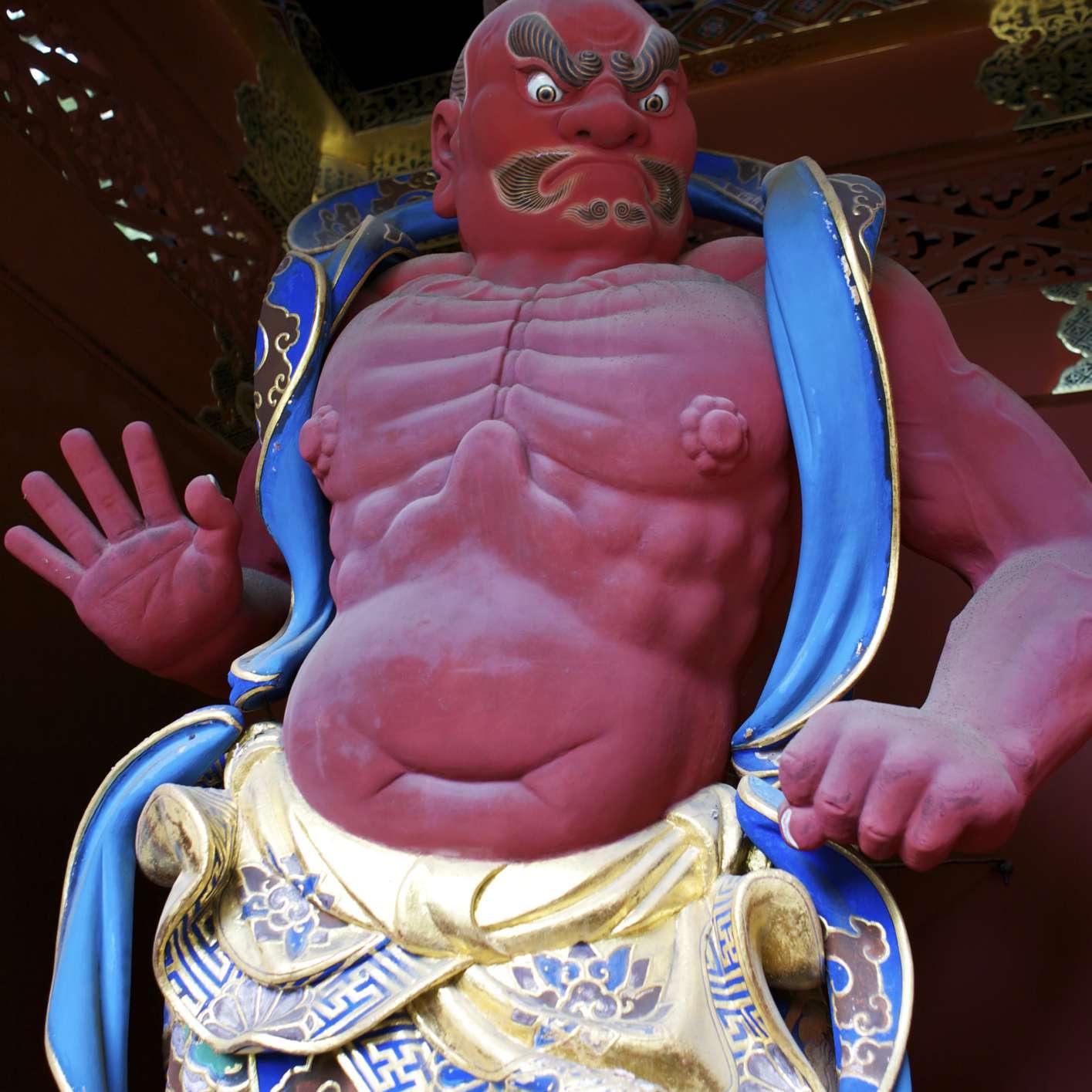Nio Temple Guardian, Japan