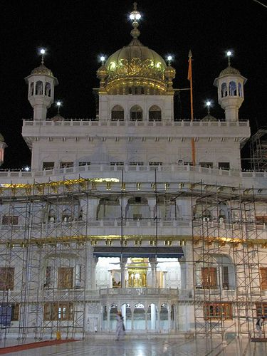 Akal Takhat, the Seat of Religious Authority for Sikhs