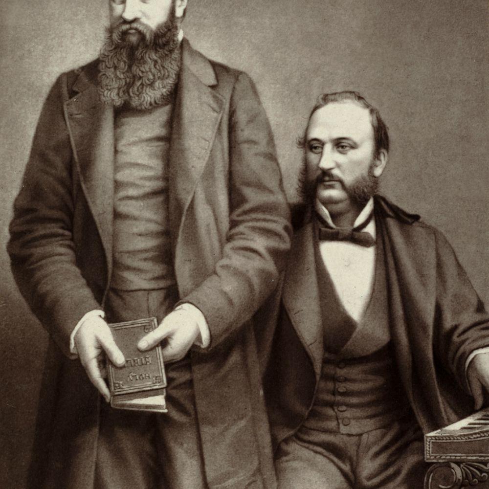 D.L. Moody and Ira David Sankey