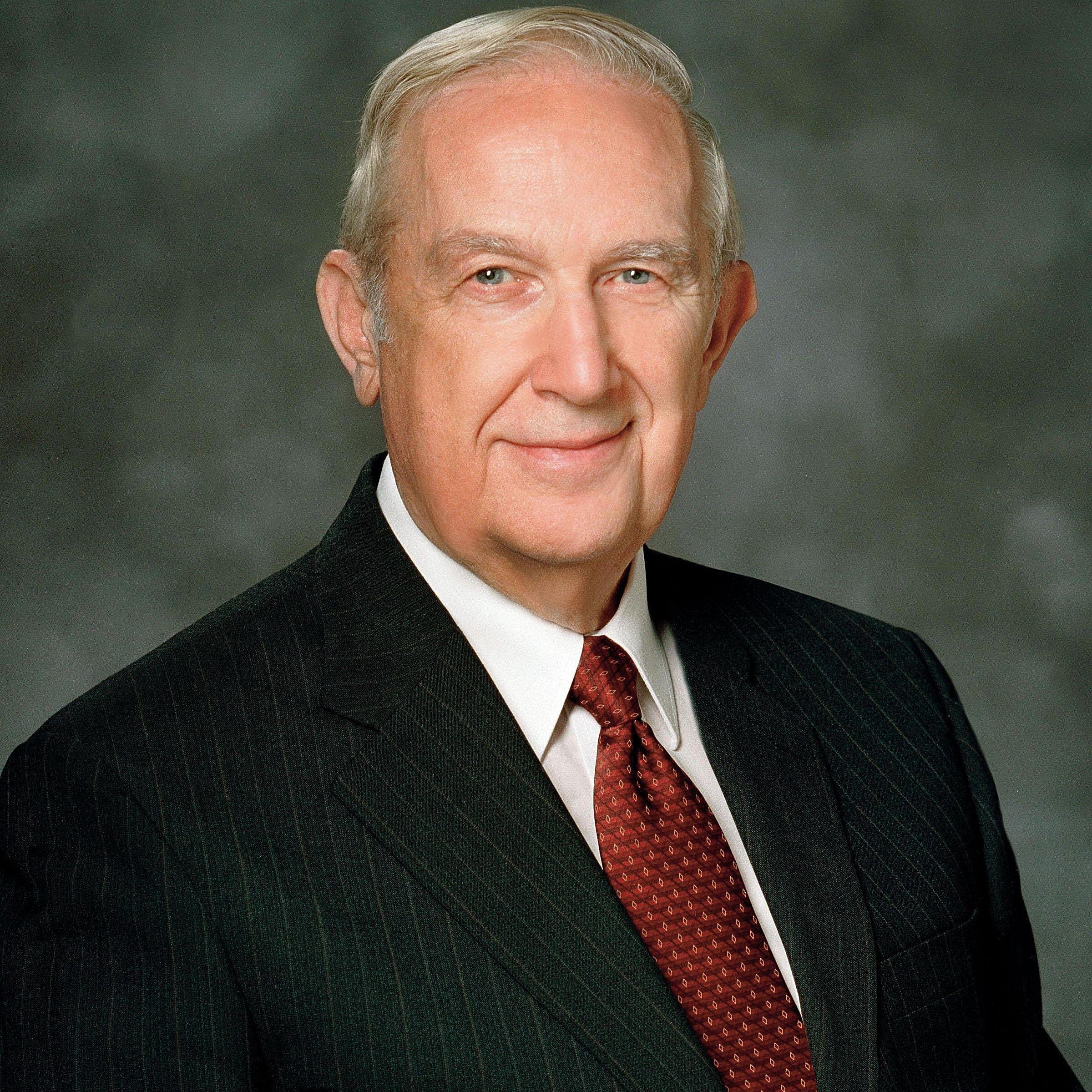 Elder Richard G. Scott, Quorum of the Twelve Apostles.