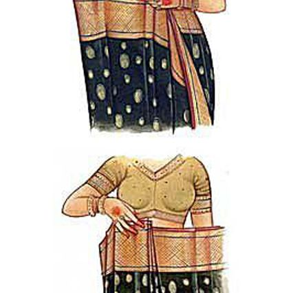 Sari: Gather the Pleats