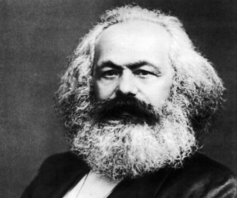 Photograph of Karl Marx