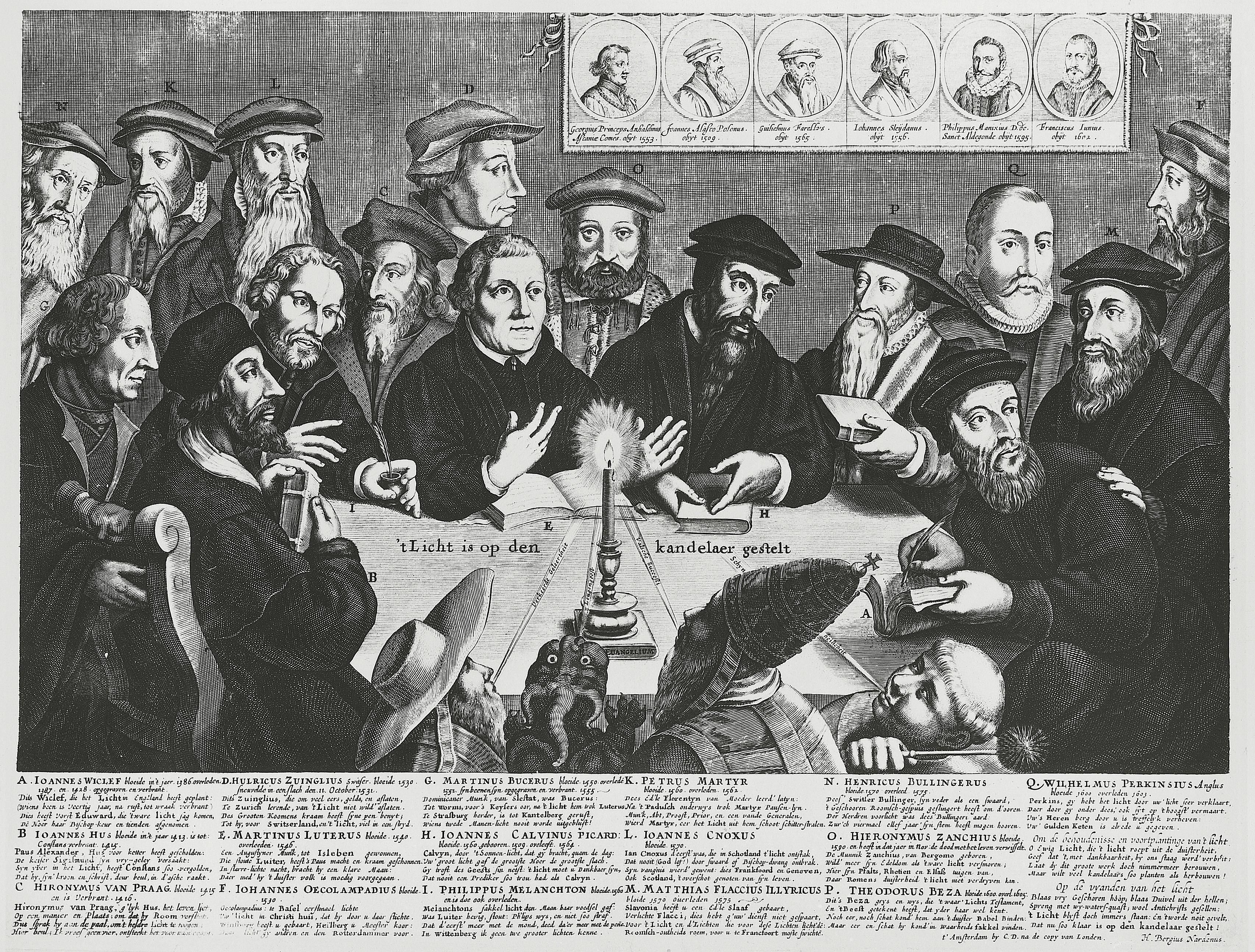 Illustration of the Great Reformers