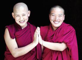 Two Tibetan Buddhist Nuns