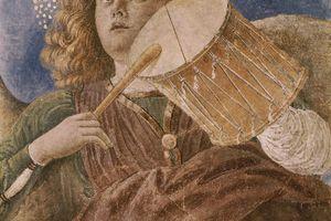 Archangel Sandalphon music drum