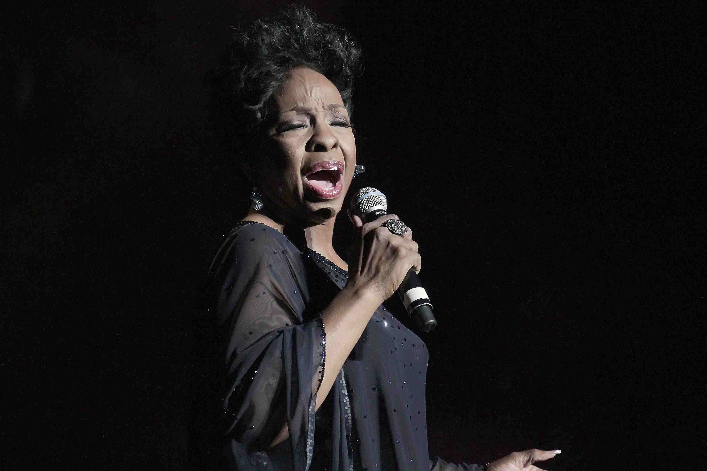 Gladys Knight singing