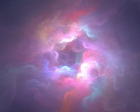 purple clouds illustration